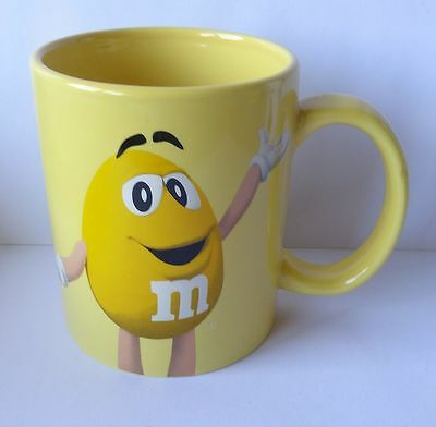 M&M TASSE YELLOW, Becher, MARS, NEU