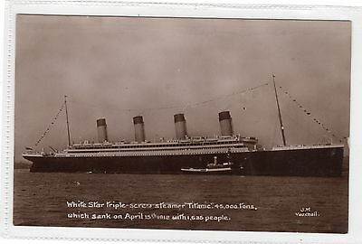 TITANIC - Post Sinking In Memorium postcard (C561).