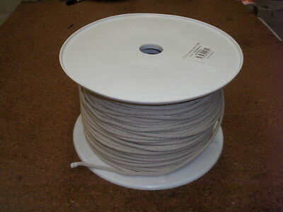 COTTON SASH CORD ROPE 250m x 5mm Reel TOP QUALITY