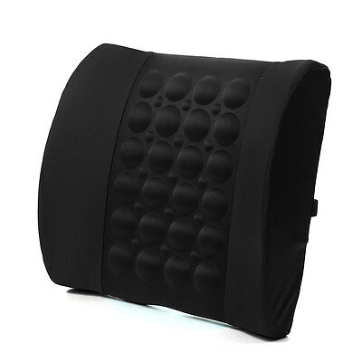 Car Electrical Massage Seat Cushion Back Lumbar Posture Support Cushion Pillow