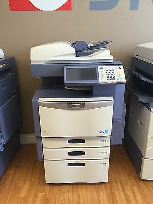 Toshiba e-Studio 3040c Color & B/W Print-Scan-Fax (Low Meter!)Including Finisher