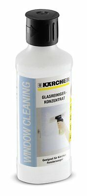 Kärcher 500ml Glass Cleaning Concentrate For Window Vac Karcher Cleaner Mirrors