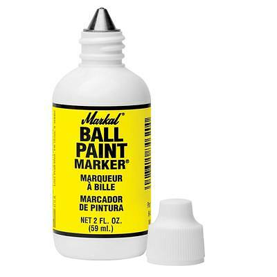Markal 84601 yellow ball end paint metal marker