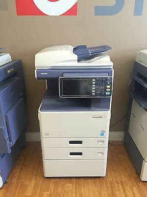 Toshiba e Studio 2550c Color & B/W Print-Scan-Fax (Low Meter!)