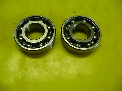 2 Stihl 029 039 310 390 Ms290 Ms390 Chain Saw Crankshaft Crank Bearings 203-Open