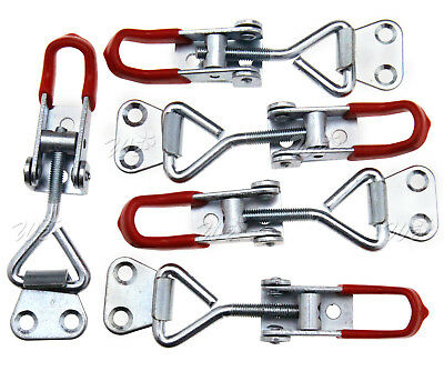 5PCS Metal Toggle Clamp Pull Action Latch 100KG/220lbs Holding Capacity