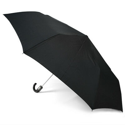 NEW Clifton Automatic Umbrella with Leatherette Handle