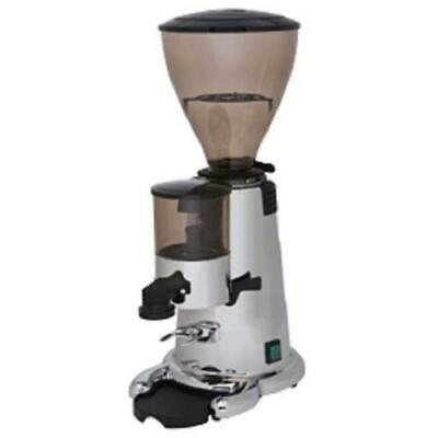 Brand New Macap M7 Auto M/Dose Commercial Coffee Grinder in Black / Chrome
