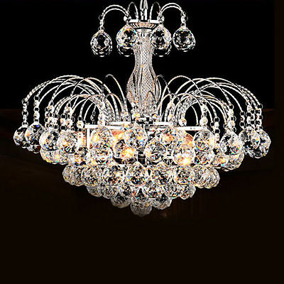 New SL Modern Crystal Pendant Lamp Ceiling Fixture Chandelier 3 lights Lighting