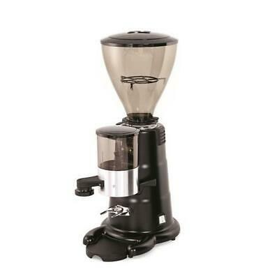 Brand New Macap M7K Commercial Coffee Grinder in Conical Black / Chrome