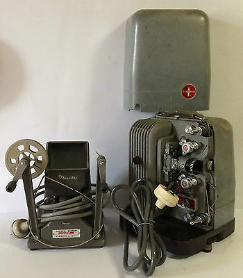Vintage 8mm Projector+Viewer Editor