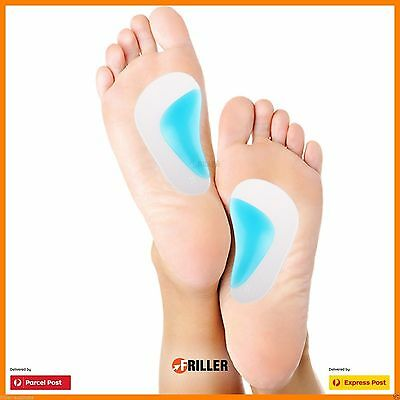 Running Gel Unisex Orthotic Sport Pad Arch Support Shoe Insoles Insert Cushion