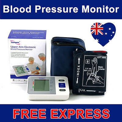 Digital Blood Pressure Monitor Automatic Upper Arm Brand New Free Express