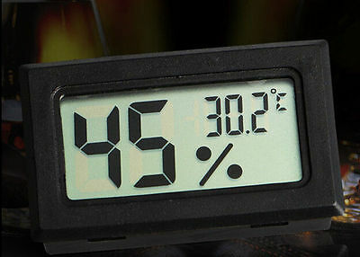Pro Digital LCD Indoor Temperature Humidity Meter Thermometer Hygrometer