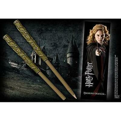 Harry Potter : Wand Pen & Bookmark HERMIONE GRANGER from The Noble Collection