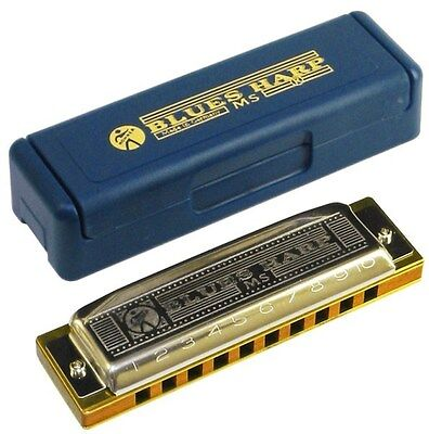 hohner armonica diatonica blues harp (ms) f in fa mod. 532/20