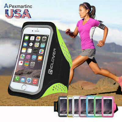 For iPhone 5S/SE/7/6S/PLUS Sports Running Armband Pouch Case Cover Phone Holder