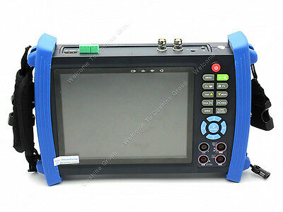"HVT-3600M 7"" Screen VGA CCTV Camera Monitor SDI input PTZ Multimeter Tester"
