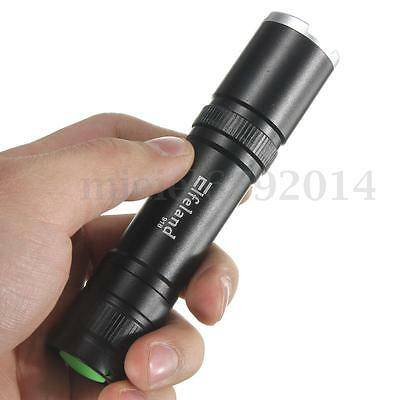 Elfeland Bright 5000LM T6 LED Zoomable Flashlight Torch Lamp Light 5 Modes