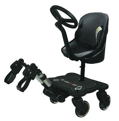 BRAND NEW Universal Mee-Go Sit n Ride 4 Wheeled Buggy Board with Seat & Harness
