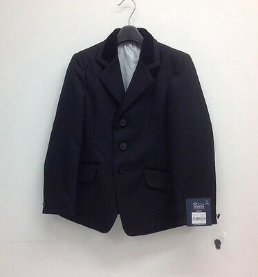 "Shires Childrens Cotswold Competition/show Jacket 26"" Black"