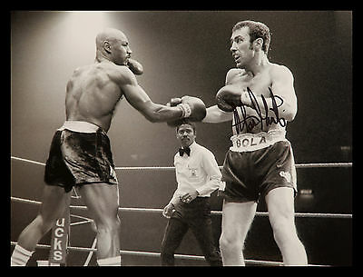 """Alan""""Boom Boom"""" Minter Signed 12x16 Boxing Photograph : A"""