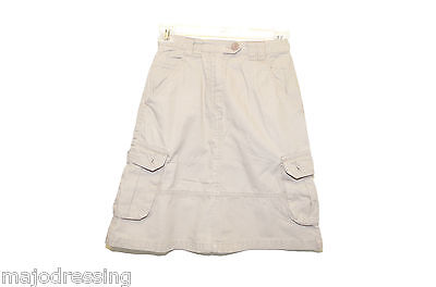 Jupe casual cargo coton beige TEX BASIC Taille 10 ans TBE