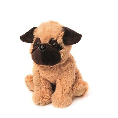 Warmies Cozy Plush Fully Microwavable PUG DOG Lavender Scented Heatable Toy