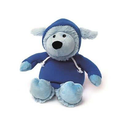 Warmies Cozy Plush HOODY BLUE SHEEP Microwavable Lavender Scented Toy