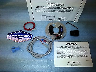 Dynatek Ds1-3 Dyna S Electronic Cdi Ignition Goldwing Gl1000 Points Replacement