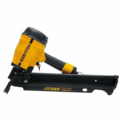 BOSTITCH LPF28WW 28-Degree Wire Weld Framing Nailer
