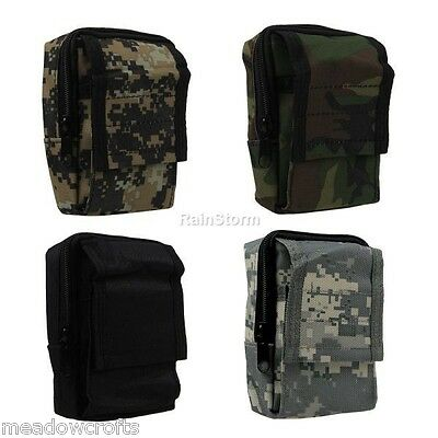 Military Waist Pouch Molle Utility Sundries Belt Bum Bag Outdoor Camouflage NEW