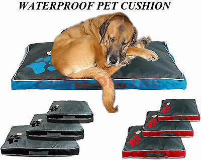 XL Waterproof Dog Pet Cat Bed Mat Cushion Mattress Double Sided Washable