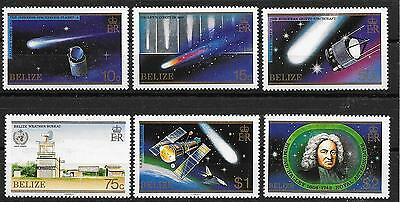 p252 BELIZE/ Halley`s Komet-Satelliten MiNr 873/78 **