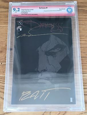 The Darkness #1 (Black Variant) CBCS 9.2ss