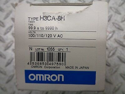 Omron Type H3Ca-8H 99.9 S To 9990 H Timer