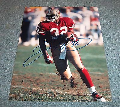 San Francisco 49ers Ricky Watters Signed Autographed 8x10 Photo Notre Dame C 311ce3f4c