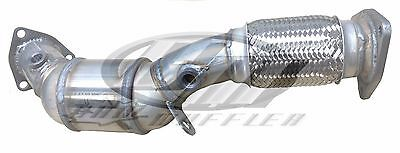 AUDI Q7 4.2L Flex Pipe Catalytic Converter 2007 2008 2009 Driver Side OBDII  sc 1 st  PicClick & AUDI Q7 3.6L Passenger Side Flex Pipe u0026 Catalytic Converter 2007 ...