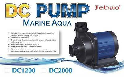 Jebao DC Return Pump 1200 2000 Marine Reef Sump Fishtank UK Supply & Warranty