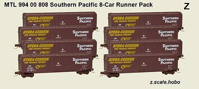 Micro-Trains Z Scale MTL Southern Pacific SP 50-Foot Box Car 8-Pack *NEW $0 SHIP