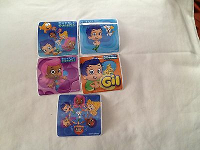 5 Bubble Guppies  Stickers Party Favor