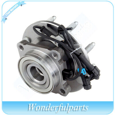 Wheel Hub Bearing Front New For Chevrolet Sierra 2500 HD Classic 4X4 4WD W/ABS