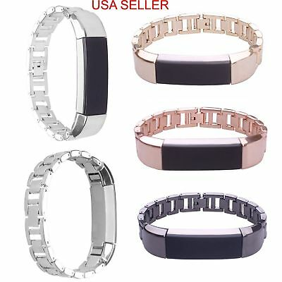 Metal Stainless Steel Watch Band Wrist Strap For Fitbit Alta Wristband Bracelet