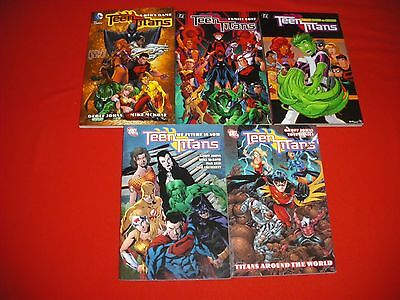 Teen Titans 1 -23 34 -41 Vol 1 2 3 4 6 Tpb Kids Game Future Is Now Graphic Novel