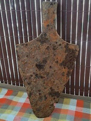 "WOW, Extremely RARE! Ancient Roman Legionary Iron Shovel - 15,94""x8,66"";3,79 lb"