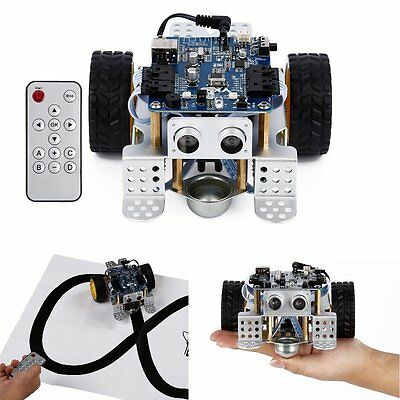 Programmable Educational Robot Smart Car Children Kids Learning Toy with Remote