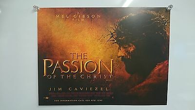 The Passion of the Christ (2004) UK Mini Poster Original