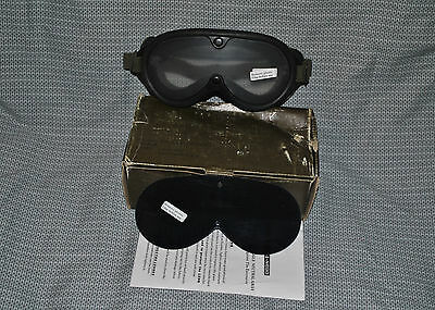 USA Ballistic Goggles Sun Wind and Dust W Clear and Grey Interchangeable Lenses
