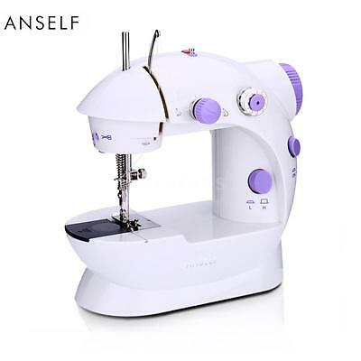Mini Heavy Duty Electric Sewing Machine 2 Speed Adjustable Home Use EU Plug D8G8