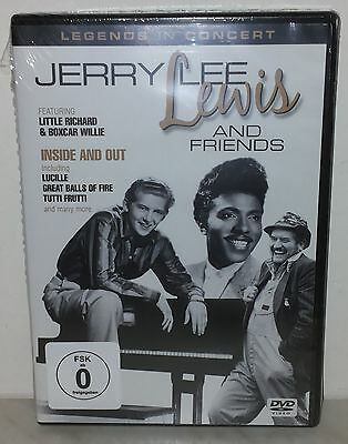 Dvd Jerry Lee Lewis - Inside Out - Sealed - Sigillato